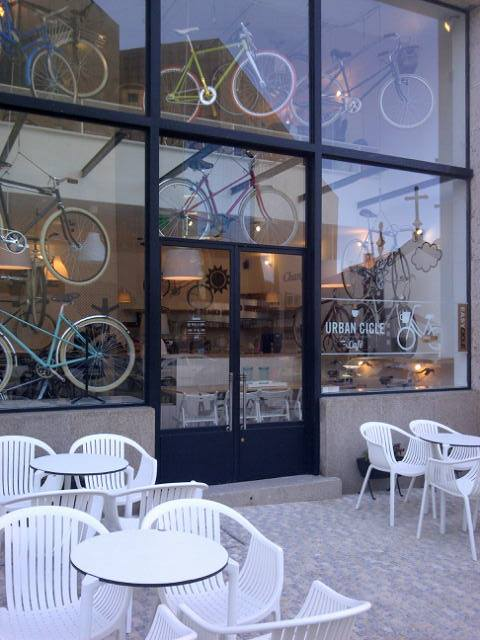 urban cycle cafe