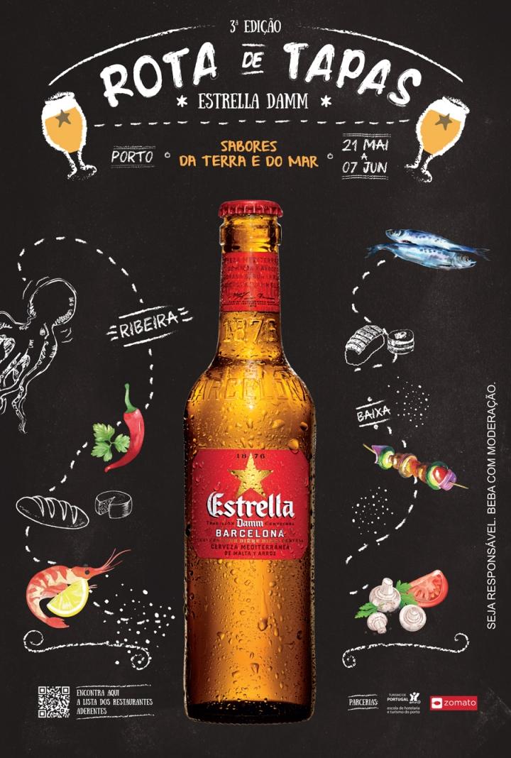 3ª Edição Rota de Tapas Estrella Damm Porto
