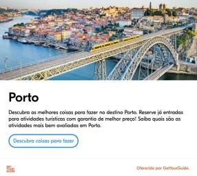 porto city widget